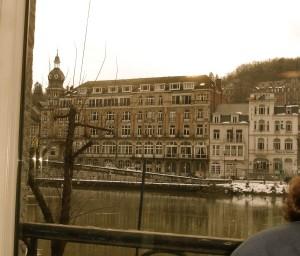 Vue de la fenêtre chez Bouboule : la Meuse