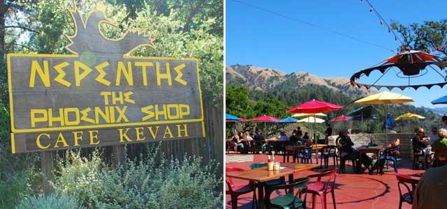 Le Café Kevah à Nepenthe