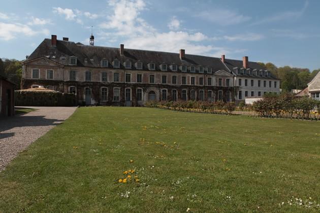 curiosité,jardins,abbaye,balade,potager