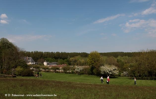balade,vallée,parc,jardin,nature, Authie, Valloires