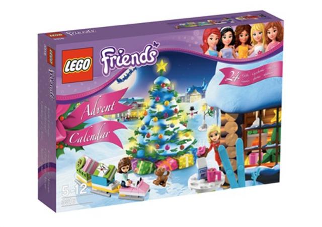 fêtes, noël, avent, calendrier, surprises, filles, jeu, construction,  LEGO,