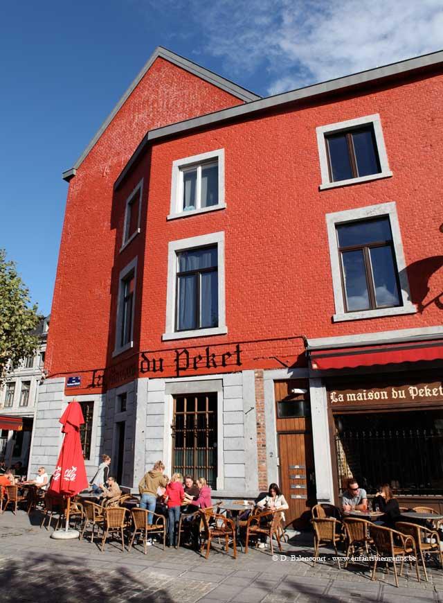 boulets sauce lapin, Liège, resto enfants bienvenus, folklore belge,
