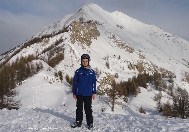 ski, eider, veste, tenue de si, sport, hiver, montagne, ado