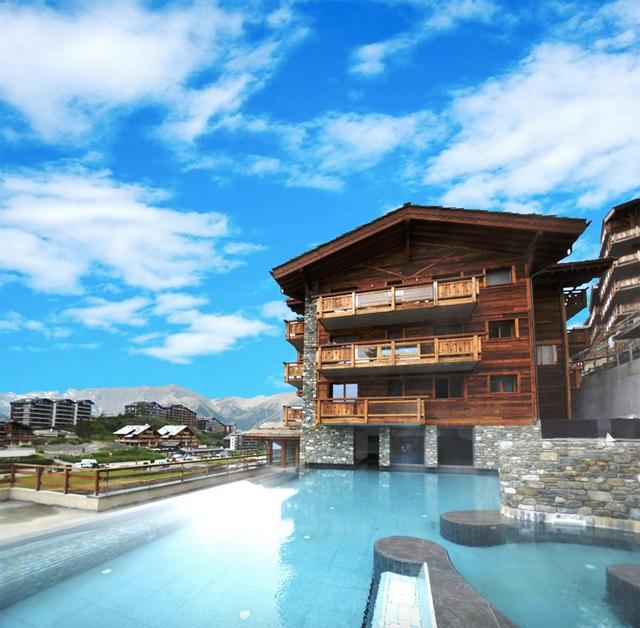spa, piscine, eau, montagne, nendaz, hôtel, hammam, sauna