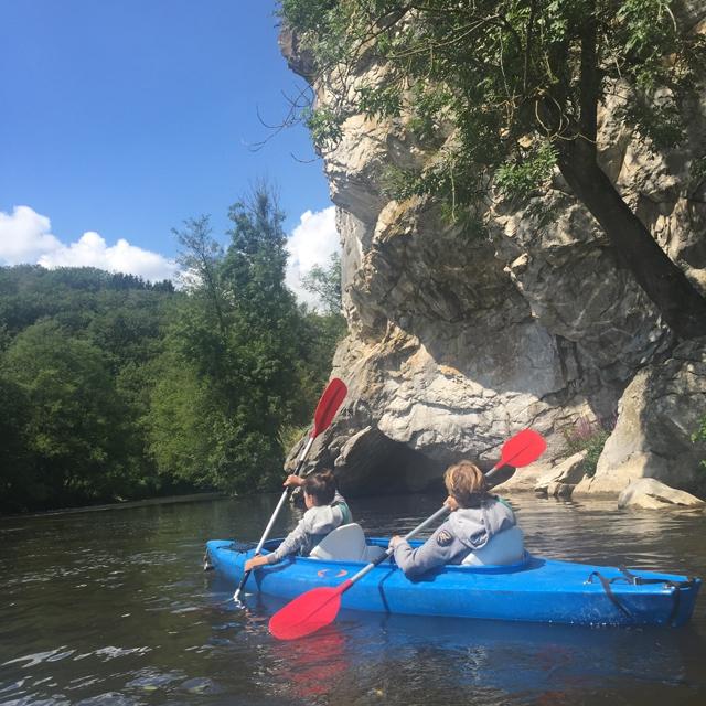 kayak, ardenne, belgique, sport, nature, palogne, week-end