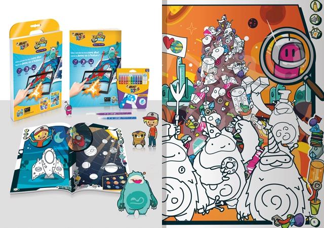 bickids,drawybook,personnage,applienfant,applicationgratuite,jeueducatif,jeutablette,livredecoloriage,histoire,planete,fusee,creation,dessin,animation,colorier,coloriageaugmente,realiteaugmentee,gratuit