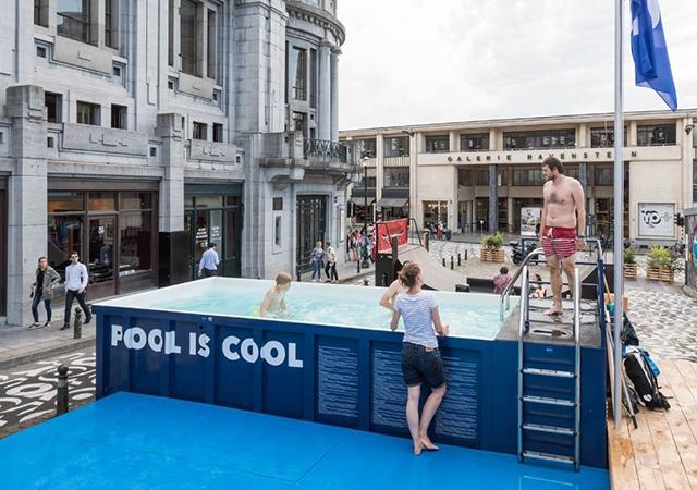 bruxelles,gratuit,coup de coeur,piscine,nager,plage, piscine, plein air